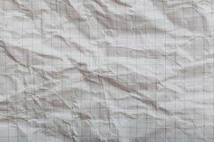 纸张起了皱纹 免版税库存图片