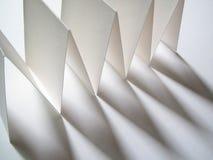 纸影子 库存图片