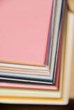 纸抽样人员 库存图片