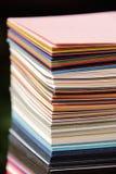 纸抽样人员 免版税库存照片