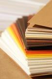 纸抽样人员 免版税库存图片