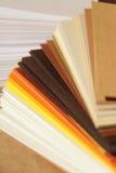 纸抽样人员 库存照片