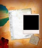纸拼贴画 免版税图库摄影