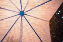 纸星电灯泡光 图库摄影