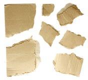 纸板收集 免版税库存图片