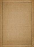 纸板框架 免版税图库摄影