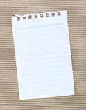 纸板波状纸板 免版税库存图片