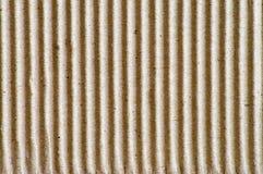 纸板波纹状的模式 免版税库存照片