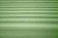 纸板波纹状的绿色 免版税图库摄影