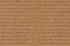 纸板波纹状的难看的东西纹理 图库摄影