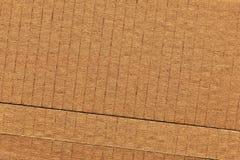 纸板波纹状的难看的东西纹理 库存图片