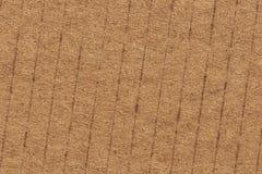 纸板波纹状的难看的东西纹理Sample_ 库存照片