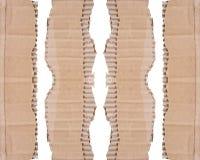 纸板的收集在空白背景编结 免版税库存图片