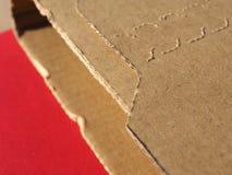 纸板箱小包小包 库存照片