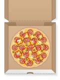 纸板箱用薄饼 免版税库存图片