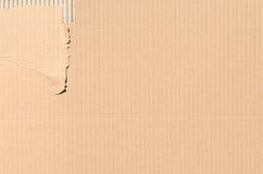 纸板纹理或背景 免版税库存照片