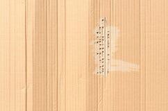 纸板纹理或背景 库存照片