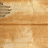 纸板grunge 免版税库存照片