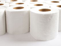 纸洗手间 图库摄影