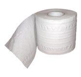 纸洗手间 免版税库存照片