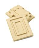 纸浆防护包装的箱子 库存照片