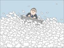 纸海  免版税图库摄影