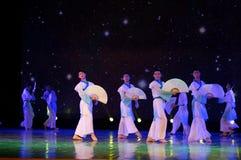 纸爱好者学者2中国民间舞 免版税库存照片