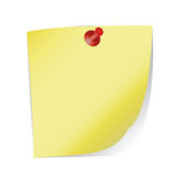 纸片与 免版税库存照片