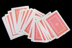 纸牌游戏诉讼 免版税库存照片
