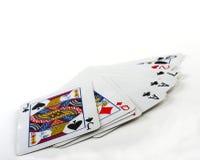 纸牌游戏 免版税库存照片