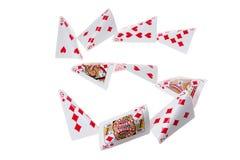 纸牌游戏 库存图片