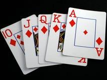纸牌游戏 免版税图库摄影