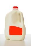 纸盒加仑牛奶 图库摄影