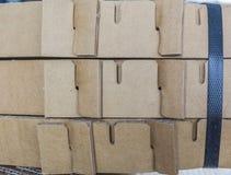 纸盒的样式 免版税库存图片
