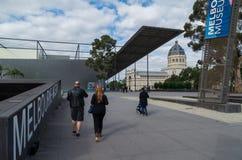 纸盒的,澳大利亚墨尔本博物馆 库存图片