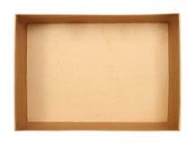 纸盒配件箱 库存照片