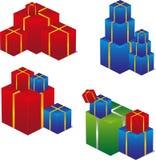 纸盒 免版税库存图片