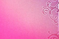 纸纹理背景桃红色,仿造  免版税库存图片