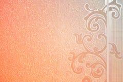 纸纹理背景桔子,仿造  图库摄影