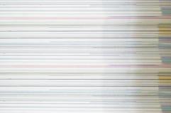 纸纹理色的墨水 免版税库存照片