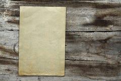 纸纹理葡萄酒木头 库存照片