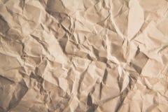纸纹理,惨败布朗纸纹理 图库摄影
