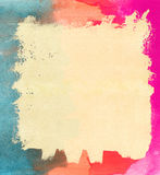 纸纹理水彩 免版税图库摄影