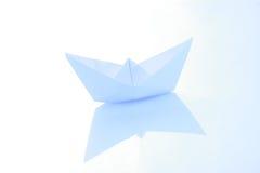 纸船 图库摄影