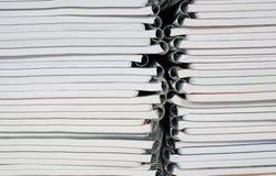 纸螺旋装订的笔记本 免版税库存图片