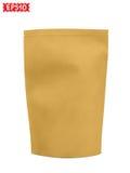 纸袋空白 向量例证