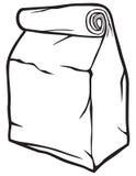 纸袋 免版税库存照片