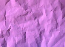 纸被弄皱的纹理颜色紫色 库存照片