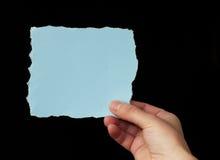 纸部分空间文本 免版税库存图片