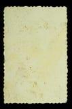 纸部分葡萄酒 图库摄影
